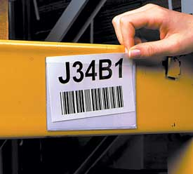 Archive 187 Removing Old Pallet Rack Beam Labels Indoff