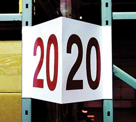 Archive 187 Warehouse Aisle Signs Indoff Shipping And